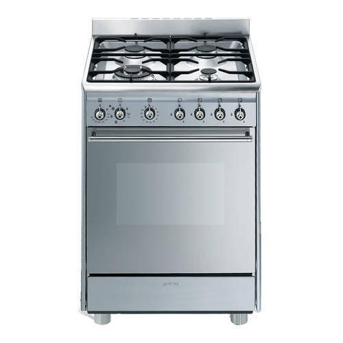 Stainless Steel 4 Four Burner Range