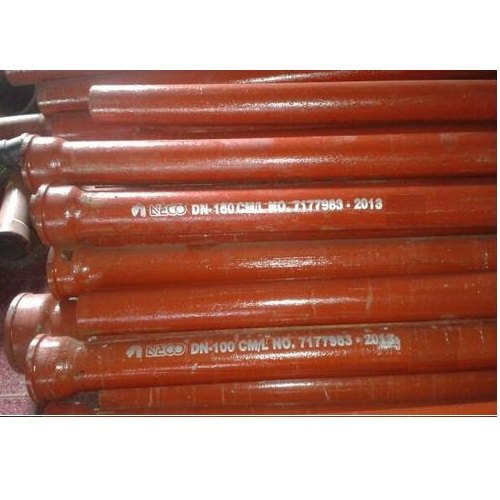 Round Cast Iron Hubless Pipe, Thickness: 3.5 Mm, Size: 2