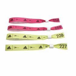 Ribbon Fabric Wristband