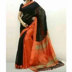 Katan Silk Saree, 6.3 M (With Blouse Piece) , packaging Type: Packet