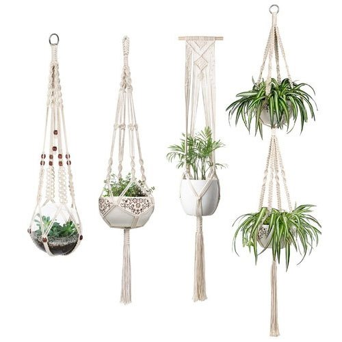 Cotton Rope For Plant Holding Macrame Plant Holders