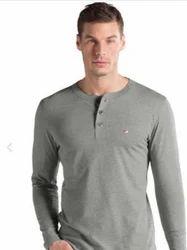 Grey Melange Long Sleeve TShirt