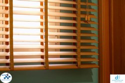 Roman PVC WOODEN BLIND, For Window