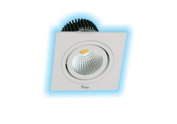 3W LED Cob Spot Light (Warm White and Blue)