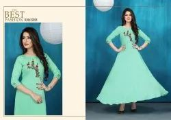 Neeti Creation Naaz Series 10023-10028 Stylish Party Wear Rayon Kurti