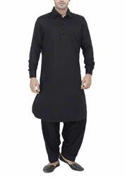 Plain Pathani Suit