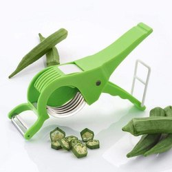 Vegetable & Fruit Cutter & Peeler with 5 Stainless Steel Blades