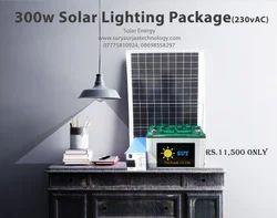 300W Solar Lighting Package (230 v AC)