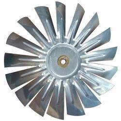 Silver Steel AC Fan Blade