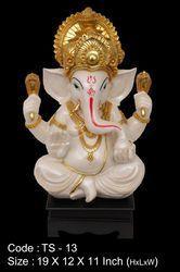 Chawki Ganesh TS-13, Polyresin Buddha Washable Statue