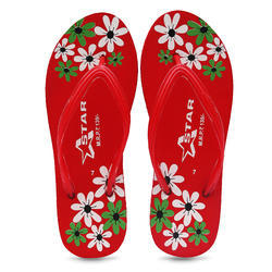 Star Hawai Daily Wear Toweled Printed Slipper, Size: 4-8