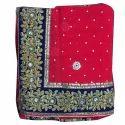 Ladies Designer Saree Less Border