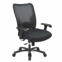 Netted Medium Back Revolving Chair