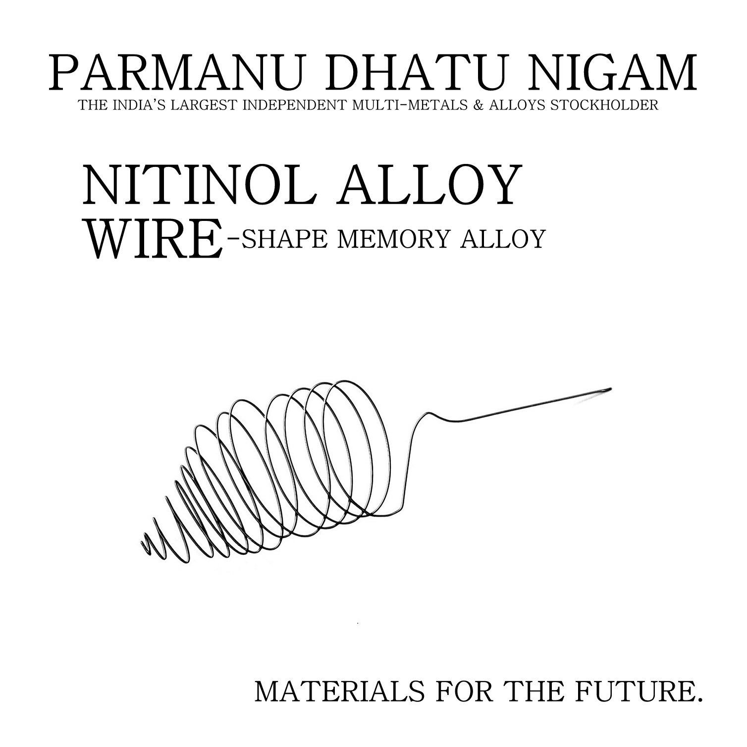 Nitinol Alloy Wire - Shape Memory Alloy Wire, Nickel ...