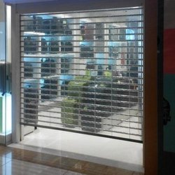 Transparent Polycarbonate Shutters