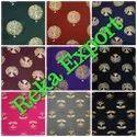 Golden Slub Cotton Prints