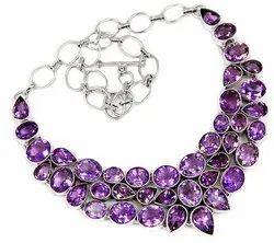 Amethyst Necklaces Jewelry
