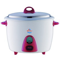 Capacity(Litre): 2.8 L Bajaj RCX28 Electric Rice Cooker, 1000 Watts