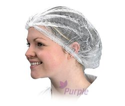 Purple Meditex Disposable Skull Cap, Packaging Type: Box, Size: 16 Inch
