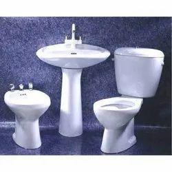 White Wall Mounted Somany Bathroom Sanitaryware