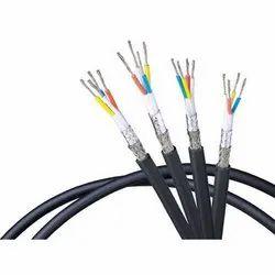 Black PVC Belden Cables, For Industrial, 220-440 V