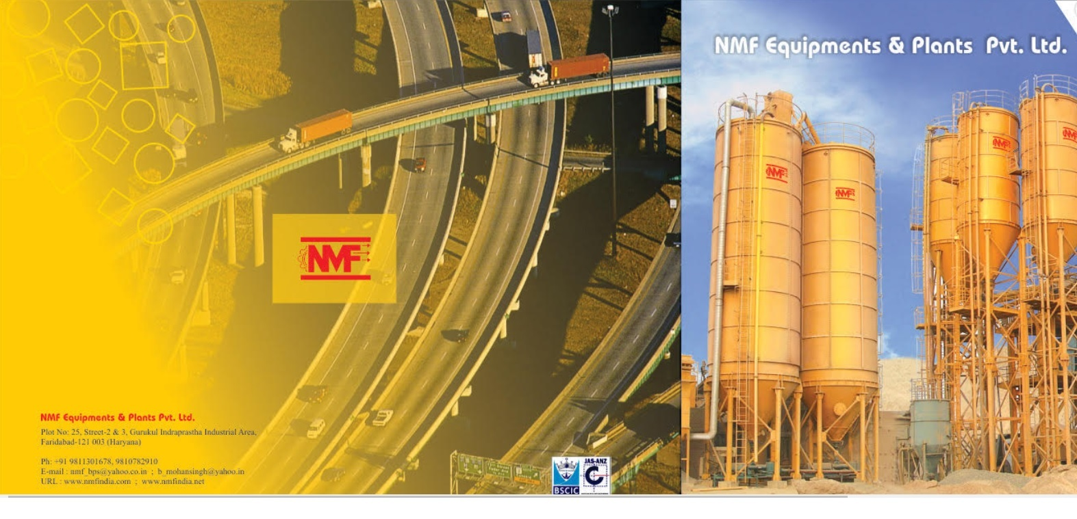 NMF Equipments And Plants Private Limited - Manufacturer of