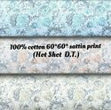 Cotton Satin Printed Fabric (Hot Shot D.T.)