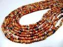 Mystic Coated Carnelian Beads