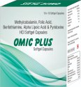 Methylcobalamin Folic Acid Benfothiamine Alpha Lipoic Acid and Pyridoxine HCI Softgel Capsules