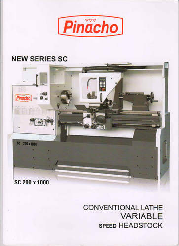 PINACHO (Convention and CNC Lathes) Variable Speed Head Stock