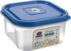 Square Plastic Container 600 ml