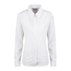 Cotton Plain Ladies Full Sleeve Formal Shirt