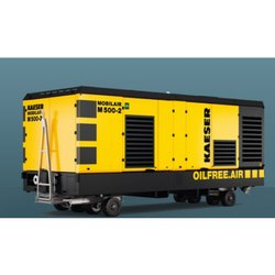 Kaeser 5 HP 1600 Cfm Portable Oil Free Compression, Discharge Pressure: 12 Bar