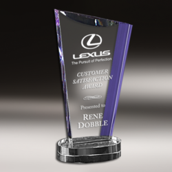 Lexus Designer Crystal Trophy
