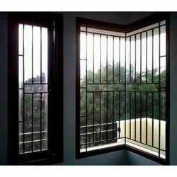 Window Mild Steel Grill