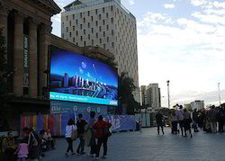 Outdoor LED Display Walls
