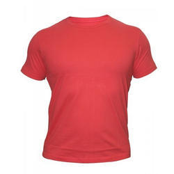 Mens Red Casual T-Shirt