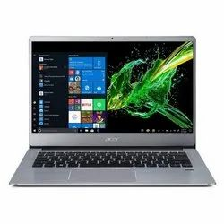 Silver Acer SF314-41 14-inch FHD Thin and Light Notebook, RAM : 4 GB