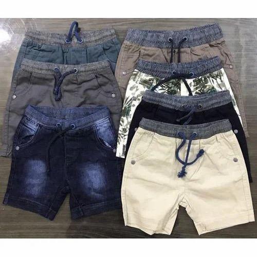 Cotton, Denim Printed Boys Shorts, Rs 100 /piece Brand Tex Exports | ID:  16402418373