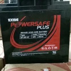 Amaron Exide UPS Battery 12V-26ah, For Online Ups