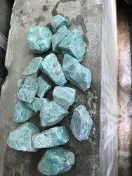 Rough Amazonite Stones, Packaging Type: Box