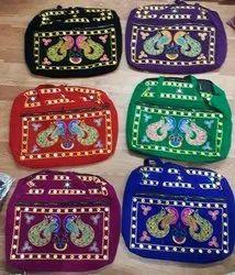 Velvet Embroidery Bag