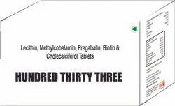 Lecithin Methylcobalamin Pregabalin Biotin & Cholecalciferol Tablets