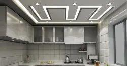 L Shape Modular Kitchen Cabinets