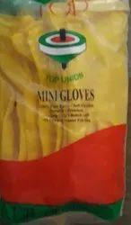 Rubber Yellow Hand Gloves Top Brand, Size: Medium