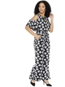Women Printed Cold-Shoulder Jumpsuit