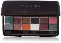 Miss Claire Eyeshadow Kit 3624-E, Shade 1 to 4, Multicolor, 28.8 g