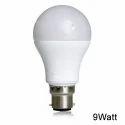 9 Watt Plastic Body Bulb