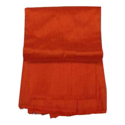 Orange And Plain Banglori Silk Fabric, Use: Garments And Laces