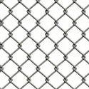 Galvanized Iron (gi) Galvanized Chain Link Fence